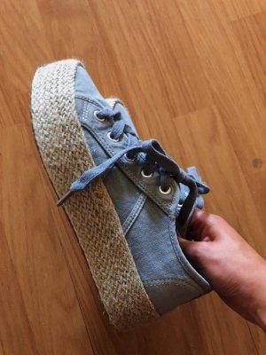 Beach platform sneakers