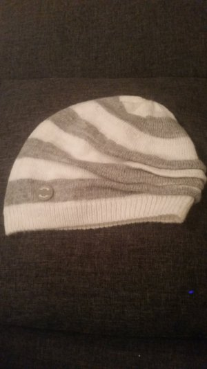 Bench Beanie light grey-natural white