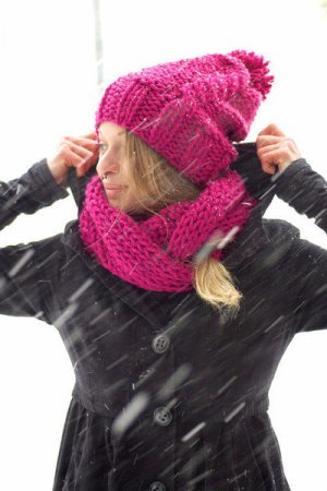 Bobble Hat magenta