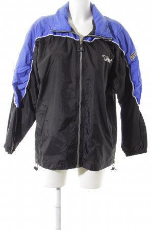 Bear Windbreaker black-blue casual look