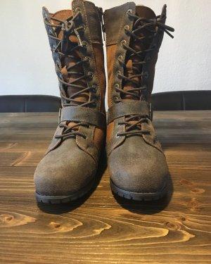 Bearpaw Hoge laarzen bruin-lichtbruin