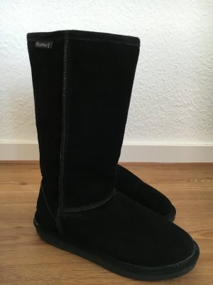 Bearpaw Stiefel schwarz hoch Emma high Winter Lammfell 39 8