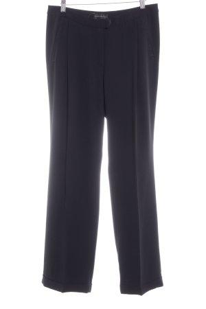 Beate Heymann Pantalone a pieghe nero stile casual