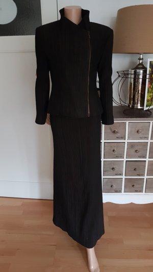 Beate Heymann Ladies' Suit black-brown violet