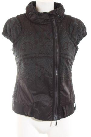 Beate Heymann Hooded Vest brown casual look