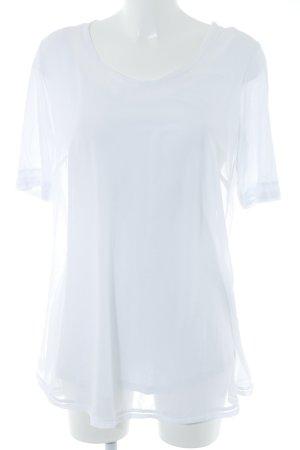 Beate Heymann Short Sleeved Blouse white casual look