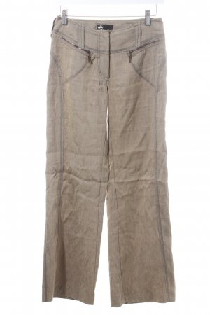 Beate Heymann Linen Pants khaki street-fashion look