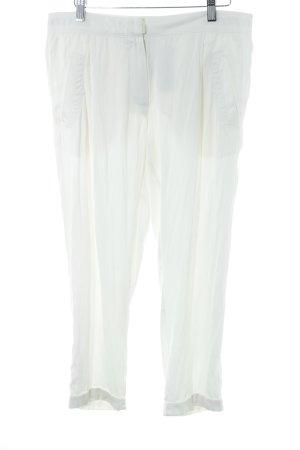 Beate Heymann Jersey Pants natural white elegant