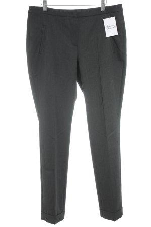 Beate Heymann Streetcouture Pleated Trousers dark grey flecked classic style