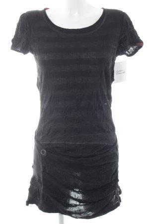 Beate Heymann Streetcouture Long Shirt black striped pattern casual look