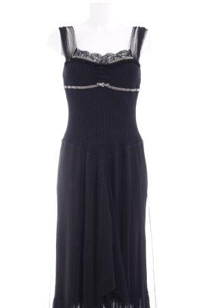 Beate Heymann Streetcouture Maxi-jurk krijtstreep extravagante stijl