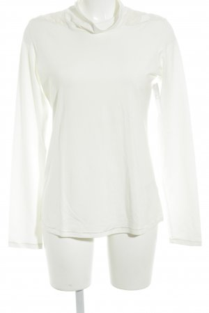Beate Heymann Streetcouture Turtleneck Shirt cream casual look
