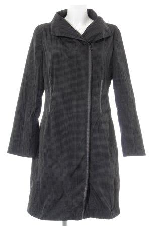 Beate Heymann Streetcouture Gewatteerde jas zwart-wit gestippeld patroon