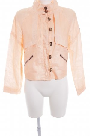 Beate Heymann Streetcouture Between-Seasons Jacket apricot elegant