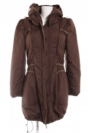 Beate Heymann Streetcouture Winter Coat brown casual look