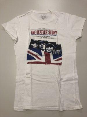 Camiseta blanco-azul
