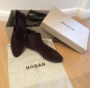 """Beatles"" Wildleder Ancle Boots von Hogan"