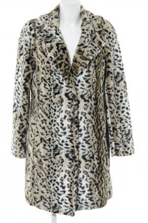 Beaumont Fake Fur Coat leopard pattern extravagant style
