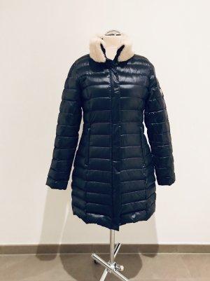 Beaumont Manteau en duvet bleu foncé