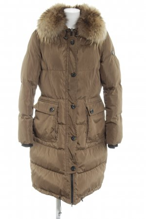 Beaumont Winter Coat brown quilting pattern casual look