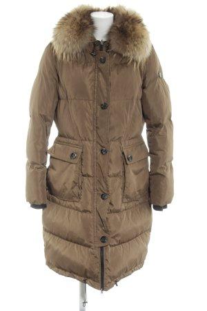 Beaumont Cappotto invernale marrone motivo trapuntato stile casual