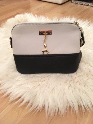 Pouch Bag black-white