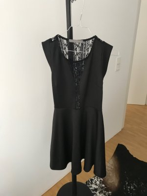 Romeo & Juliet Couture Vestido línea A negro