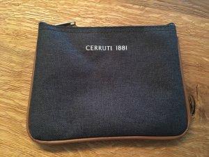 cerruti 1881 Mini sac gris foncé-cognac