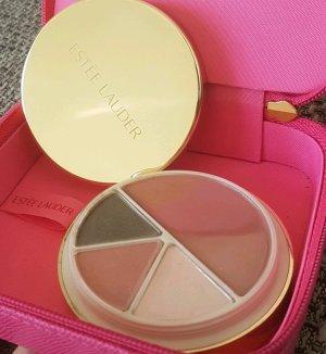 Beauty-Case von Estée Lauder in Pink mit Schmink-Palette
