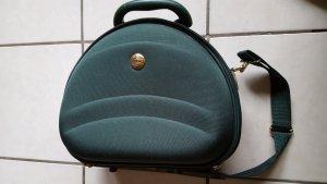 Beautycase-Reisetasche in grün