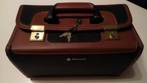 Samsonite Cosmeticabox zwart-cognac