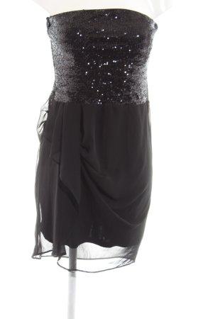 bebe Bandeau Dress black elegant
