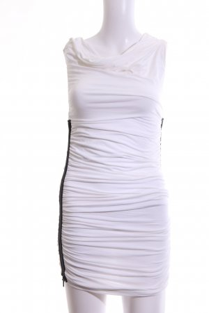 bebe Tube Dress white casual look