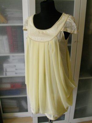 BEBE Kleid Gr. 34 zitronengelb