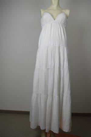 bebe Kleid Gr. S, weiß mit Seide