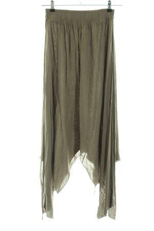 bebe Midi Skirt khaki casual look