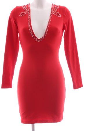 bebe Mini Dress red elegant