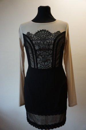 bebe Mini Dress black-cream