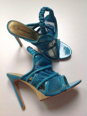 bebe Slingback Pumps cornflower blue-cadet blue leather