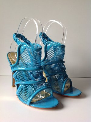 bebe High Heel Sandal neon blue synthetic