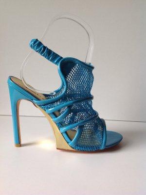 BEBE Sandaletten türkis/Blautöne in Gr. DE 39