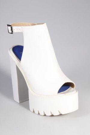 Bebo Platform Sandals white