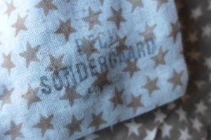 Beck Söndergaard zwei Stoffbeutel Tasche Sterne grau blau neu