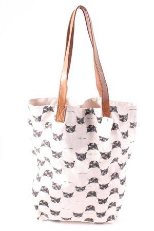 Becksöndergaard Shopping Bag black-natural white animal pattern casual look