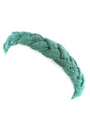 Becksöndergaard Ribbon green cable stitch wet-look