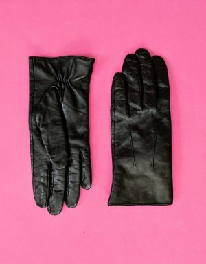 Becksöndergaard Leather Gloves black