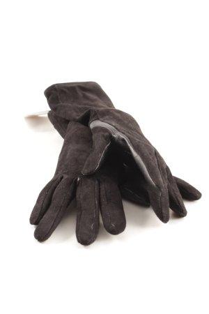Becksöndergaard Guantes de cuero negro elegante