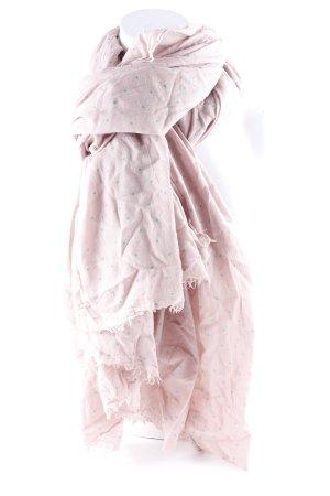 Becksöndergaard Sciarpa estiva rosa antico modello stella stile casual
