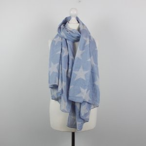 Becksöndergaard Neckerchief light blue-white