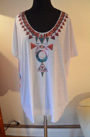Antik Batik Oversized shirt wit Polyester